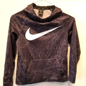 Nike Dri Fit Hooded Pullover Sweatshirt Size M
